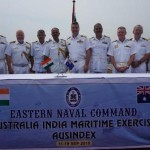 India-Australia's first joint naval exercise
