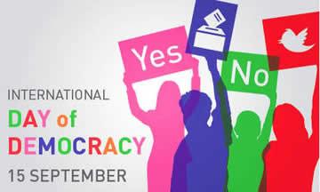 International Day of Democracy 2015