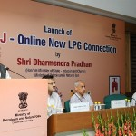 The launch of the new portal for new LPG connections