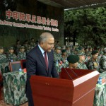 "India-China joint anti-terrorism exercise, ""Hand in Hand 2015"""