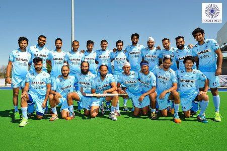 India vs New Zealand hockey Test Series-2015