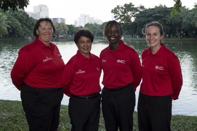 ICC appoints four female umpires for ICC Women's World Twenty20 Qualifier