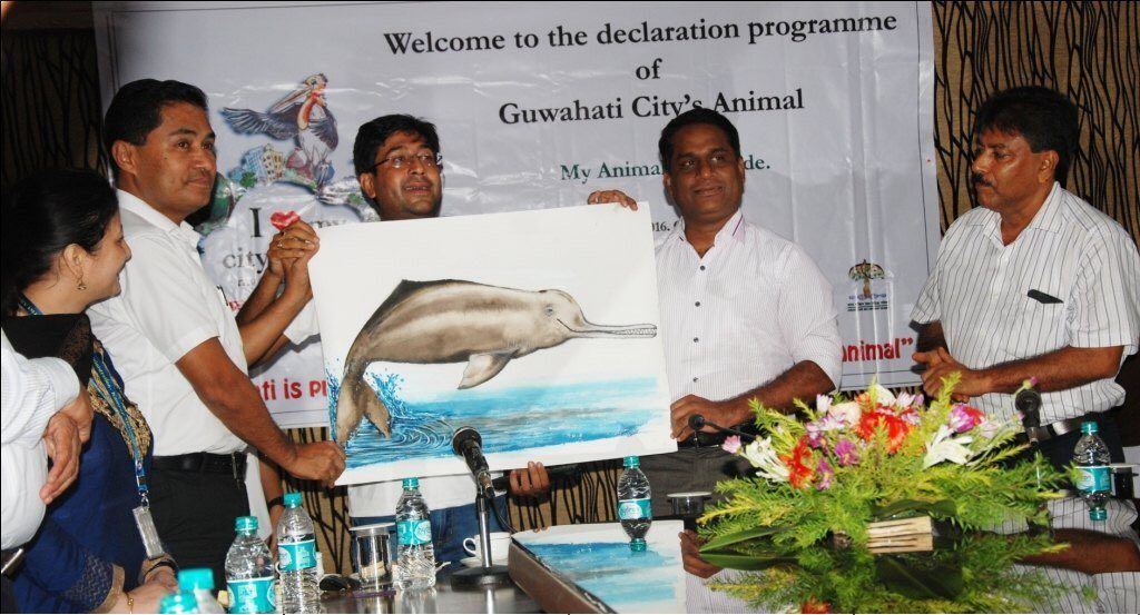 Gangetic river dolphin to be city animal of Guwahati