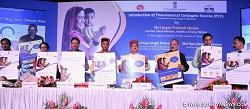 J P Nadda launches Pneumococcal Conjugate Vaccine (PCV) under Universal Immunization Programme (UIP)