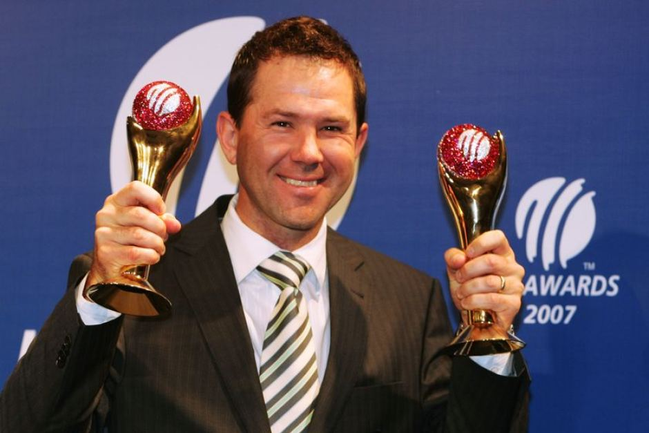Image result for ponting cricketer of the year trophy