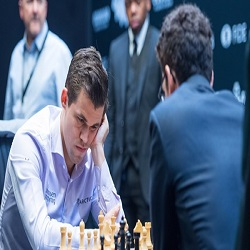 Magnus Carlsen of Norway