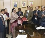 MoU signed for Inter-Ministerial Cooperation for Promotion and Facilitation of Agricultural Biotechnology Research and Education