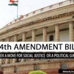 124th Constitutional Amendment Bill