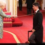 Sir Alastair Cook Officially Receives Knighthood At Buckingham Palace