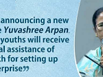 Yuvashree Arpan Scheme has been launched by the west Bangal CM Mamata Banerjee on Wednesday dated 6th March 2019