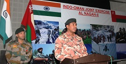 Indo-Oman joint military exercise