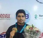Saurabh Chaudhary wins gold at ISSF World Cup