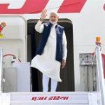 PM Modi begins three-nation trip
