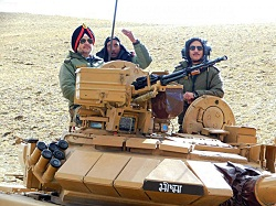 Indian army conducts massive exercise near China border