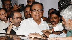 P Chidambaram was arrested by the CBI and ED officials