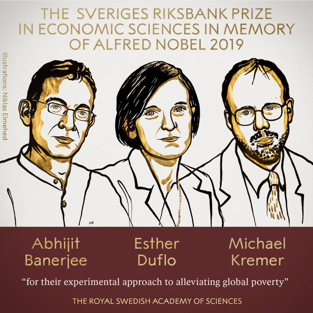 The Sveriges Riksbank Prize in Economic Sciences in Memory of Alfred Nobel 2019