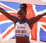 Dina Asher-Smith wins 200m gold at World Athletics Championships