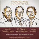 Nobel Prize for Chemistry, 2019
