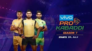 Vivo Pro Kabaddi League, 2019