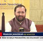 Union Minister for Information and Broadcasting Prakash Javadekar on August 13