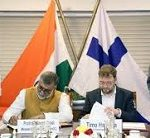 India and Finland sign an MoU