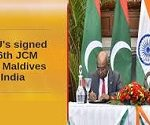 6th Joint Commission Meeting (JCM) between India and Maldives