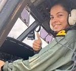 Sub Lieutenant Shivangi becomes first woman pilot of Indian Navy
