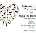 Two day International Conference on Yoga for Heart care to be organised at Mysuru, Karnataka