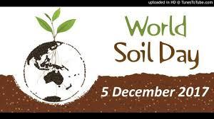 World Soil Day, December 5th