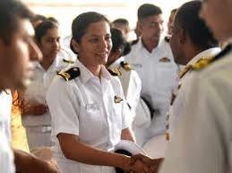 First woman pilot of Indian Navy