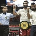 Asad Asif Khan Beats Undefeated Malaysia's No.1 Boxer to Clinch IBO Oceania Title