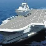 Vikrant, the country's first indigenous aircraft carrier in 2021, is expected to join the Indian Navy.
